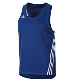 "BOXING TOP ""BASE PUNCH"" ADIDAS AZUL/BLANCO V14120"
