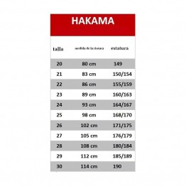 HAKAMA TAIWAN (MARINO)