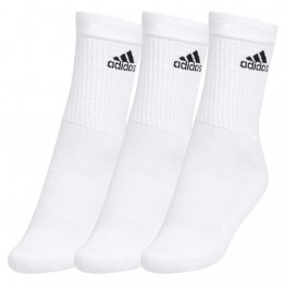 "PACK 3 CALCETINES ""ALTOS"" ADIDAS BLANCOS"