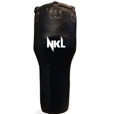 "SACO BOXEO NKL ""UPPERCUT CLASSIC"" NEGRO PIEL BUFALO (40KG)"