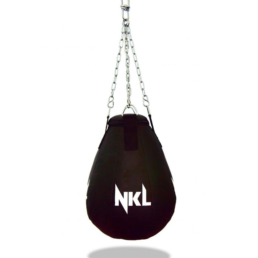 """SACO BOXEO NKL """"MAIZE CLASSIC"""" POLIPIEL NEGRO (30KG)"""