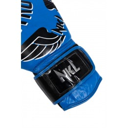 """GUANTE BOXEO NKL  """"DESTROYER 2.0"""" AZUL / NEGRO"""