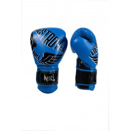 "GUANTE BOXEO NKL  ""DESTROYER 2.0"" AZUL / NEGRO"