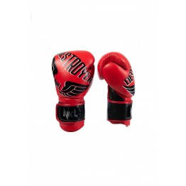 "GUANTE BOXEO NKL  ""DESTROYER 2.0"" ROJO / NEGRO"