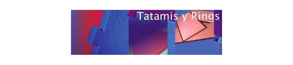 tatamis,rings y colchonetas.