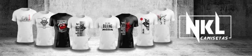 Camisetas Personalizadas   Nkl Budo Shop