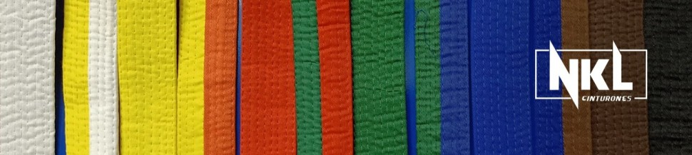 Cinturones para artes marciales | NKL Budo Shop