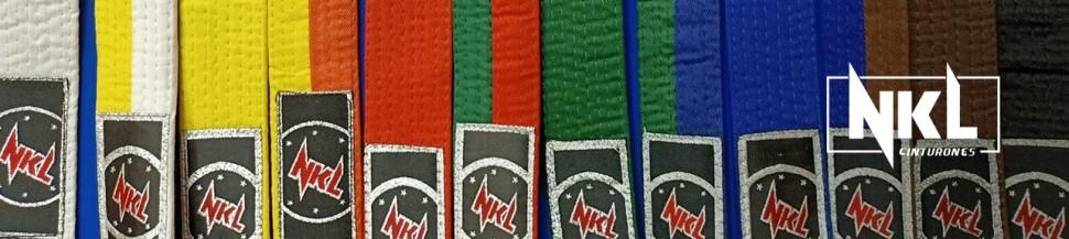 Cinturones para Taekwondo | NKL Budo Shop