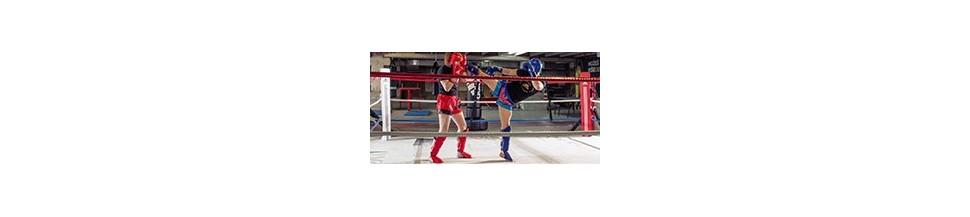 Espinilleras Thai / Kick Boxing   NKL Budo Shop