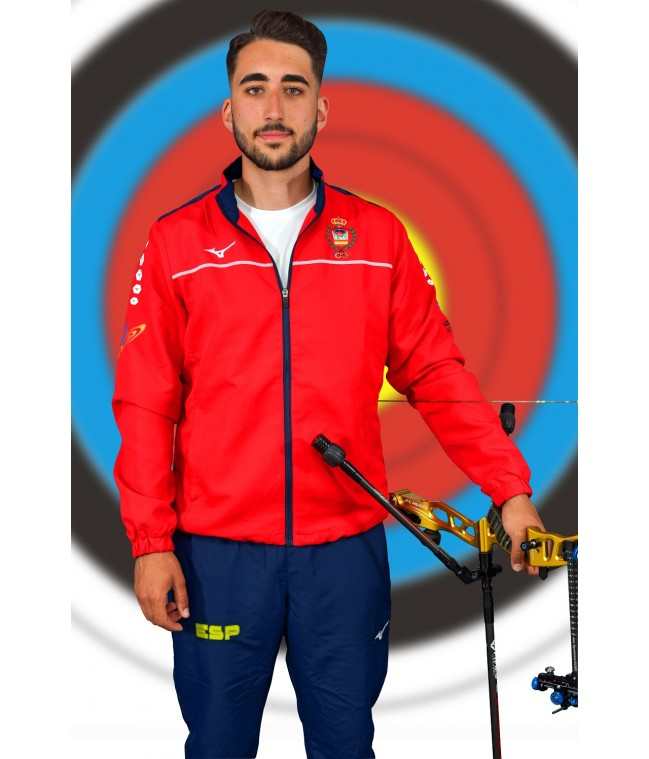 f9a7e95ba TEAM MICRO TRACKSUIT RED/NAVY CHICOS